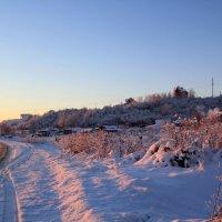 Зимний пейзаж :: Aнна Зарубина