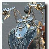 Легендарный Harley-Davidson :: Sasha Bobkov