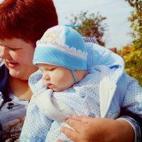 Мама и сынок :: Ирина Лапшина