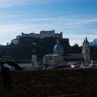 Зальцбург. Вид с городской стены. :: Ольга Долбилина