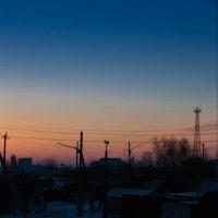 Холодный рассвет :: Вадим Лячиков