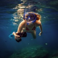 Underwater photographer. :: Дмитрий Лаудин