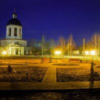 Вечерни парк в Бондарях :: Егор Колесников
