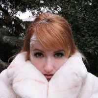 Девушка-зима :: Дарья Хубанова