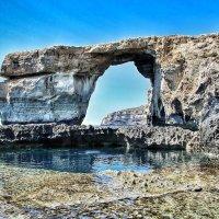 Лазурное окно, Мальта о. Гозо :: Ульяна Альбинская