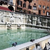 фонтан на площади Поля.Сиена. :: Лидия кутузова