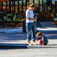 Мама с сыном :: Виктор Перевозников