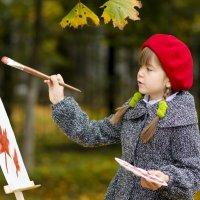Юная художница. :: Наталия Камалетдинова