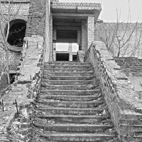 Лестница в воспоминания :: Марина Сеньшина