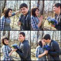 Любовь это...когда он отдаёт тебе все свои подснежники!) :: Anastasia M