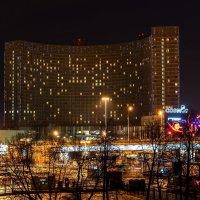 "Москва, гостиница ""Космос"" :: Алексей Яковлев"