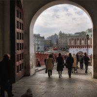 От этих стен, старинных башен и начинается Москва :: Ирина Данилова