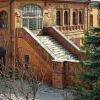 ...лестница Храма Божией Матери Знамения на Варварке.... :: Ира Егорова :)))