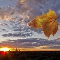 Осенний закат :: Вячеслав Касаткин