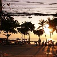 Закат, солнце :: Fil