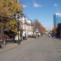 Пешеходная зона в центре Челябинска :: Сергей Кухаренко