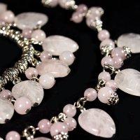 "Розовый кварц, ""античное серебро"" :: Дарья Казбанова"