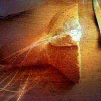 Забавный хлеб на завтрак получился. :: Ольга Кривых