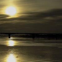 Закат над рекой :: Андрей Качин