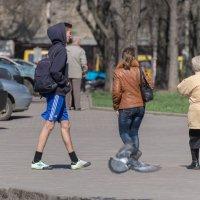Все как люди, а я в шортах. :: Сергей Волков
