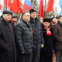 На митинге в поддержку Крыма :: Татьяна Копосова