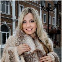 Олеся. Реклама меха :: Владимир Белозеров