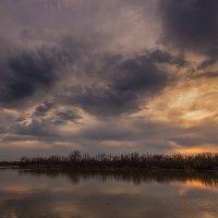 Лиловый закат :: Владимир Бегляров