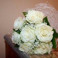 Свадебные белые розы :: Ольга Ситникова