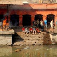 Кремация. Катманду. Непал. :: fototysa _