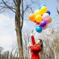 на большом воздушном шаре...))) :: Irina Alikina