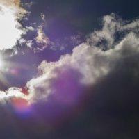 солнце в облаках :: Дмитрий Беляков