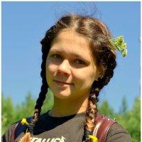 Солнечный портрет. :: Лариса Красноперова