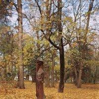 Уголок осеннего парка :: Сергей Тарабара