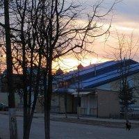 Купола в закате. :: Sergey Serebrykov