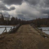 Старая переправа. :: Евгений Герасименко