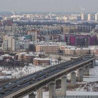 Нижний новгород, Метромост :: Василий Либко