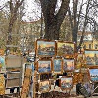 кусочек Монмартра на Соборной площади :: Александр Корчемный