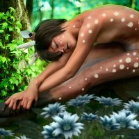 Девочка-оленёнок :: Виктория Маркова
