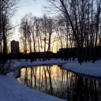Вечер в парке :: Павел Михалев