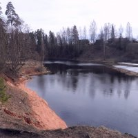 пос. Сиверский, река Оредеж :: Валерия Яскович