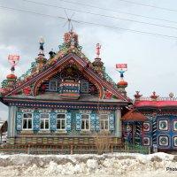дом кузнеца Кириллова в деревне Кунара :: Анна Павлова