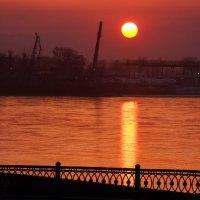 Ажур иркутского заката :: Александр | Матвей БЕЛЫЙ