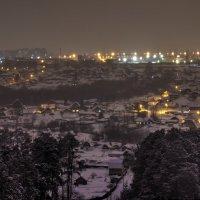 Фото ночного города :: Marina Gunbina
