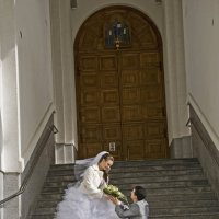 Осенняя свадьба :: Elena Vershinina