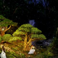 Волшебный лес. :: Анюта Веселова