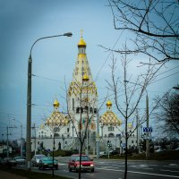 Храм-памятник в честь Всех Святых и в память безвинно убиенных во Отечестве нашем. Минск. :: Nonna