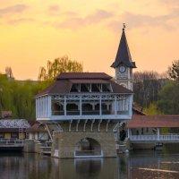 Закат у озера :: Christina Batovskaya