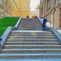 лестница в Пале-Рояль :: Александр Корчемный