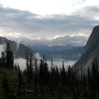 Туман в горах :: Сергей Карцев