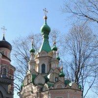 Церковь Иоанна Лествичника  усыпальница Терещенко :: Александр Качалин